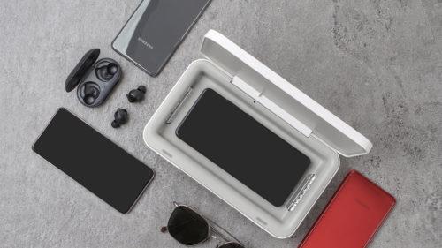 Creația inovatoare de la Samsung care îți încarcă și curăță telefonul cu ultraviolete