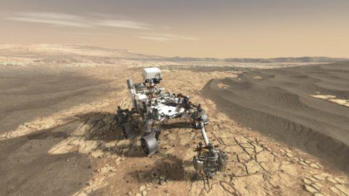 """NASA a reușit să """"intre"""" în pământul lui Marte"""