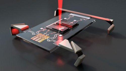 Acest robot activat cu laser este surprinzător de mic. La ce poate fi folosit?