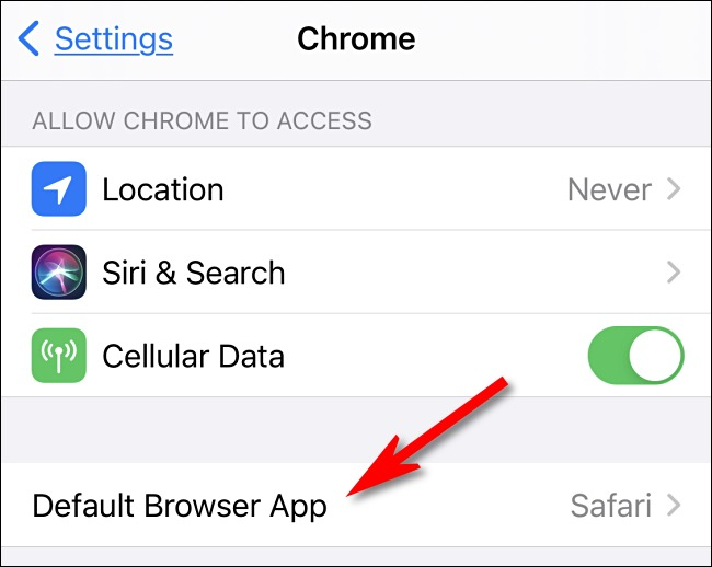 browser internet implicit iphone chrome