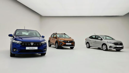 <span class='highlight-word'>VIDEO</span> Dacia 2021: noile versiuni de Sandero, Logan și Stepway, oficiale