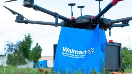 Rivalul Amazon vrea să livreze produsele cu drona: cât de mult poate căra una singură?