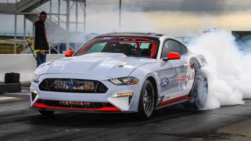 "VIDEO Acest Ford Mustang e un ""monstru"" de 1.400 CP și 100% electric"