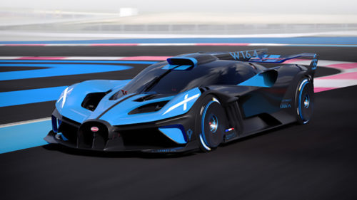 <span class='highlight-word'>VIDEO</span> – Bugatti Bolide, super mașina gata de curse, oficială: de ce are performanțe de Formula 1