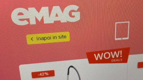 eMAG tocmai le-a pus pe site: prețuri uimitor de mici la televizoare, telefoane și nu numai