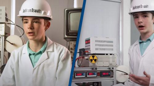 Elevul care a construit un reactor nuclear în sufrageria părinților ne arată tuturor că vârsta e doar o convenție