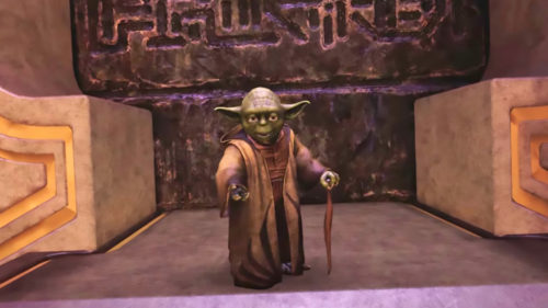<span class='highlight-word'>VIDEO</span> Star Wars: Tales from the Galaxy`s Edge: bătrânul Yoda revine cu vocea originală într-un joc
