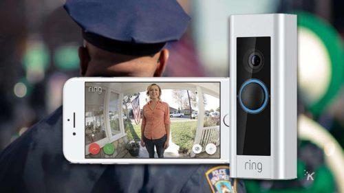 Soneriile inteligente, care au camere video, pot deveni instrument de spionaj în mâinile poliției