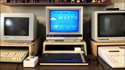 """Cum reinventezi un calculator de acum 40 de ani: Atari a """"învățat"""" să afișeze vremea de pe internet"""