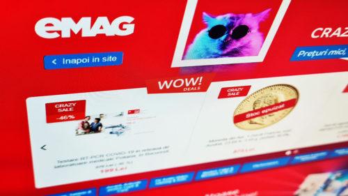 Se întâmplă pe eMAG fix la final de weekend: le dă la preț de nimic. Puțini români au observat acest detaliu