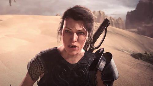 Milla Jovovich ajunge într-un joc video: ce se întâmplă în Monster Hunter World: Iceborne