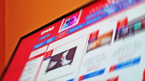 eMAG le dă chiar acum la preț extrem de mic: televizoare de la 400 de lei de zici că a greșit prețurile