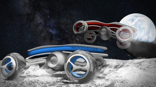 SpaceX vrea să organizeze curse auto pe suprafața lunară, în 2021