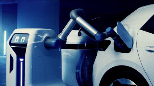 Robotul Volkswagen care încarcă mașinile electrice ar putea revoluționa industria auto