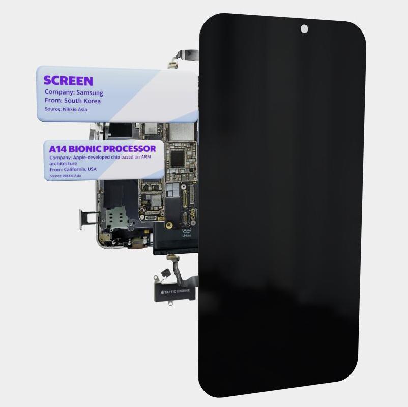 Componente iPhone 12 tari productie origine (1)