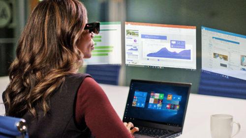 Acesta e calculatorul viitorului: are 5 ecrane și îl porți pe nas