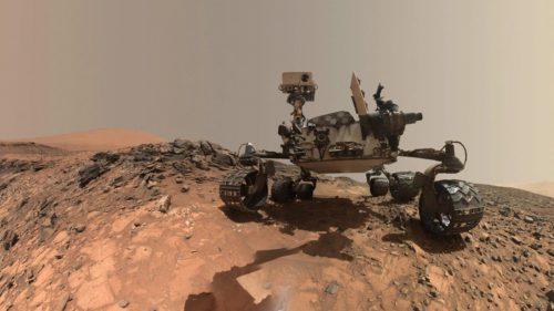 Roverul Curiosity, bine, sănătos, pe Marte: panorama care îți taie respirația de pe planeta roșie
