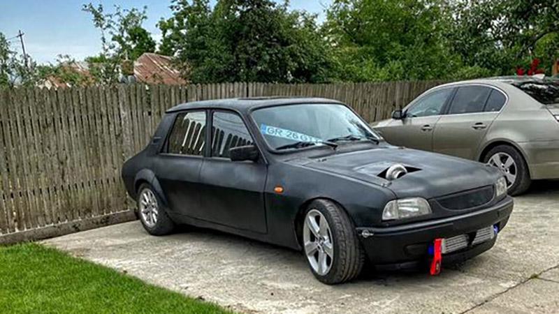 Dacia modificata tractiune spate motor BMW (3)