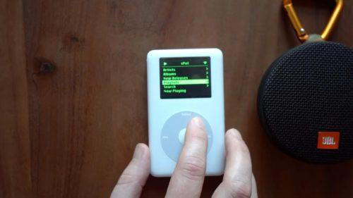 <span class='highlight-word'>VIDEO</span> Cum aduci un iPod de 17 ani în actualitate: are wireless și merge pe Spotify