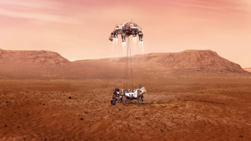 Succesul începutului de an: robotul care ne va dezvălui Marte tocmai a ajuns pe planetă