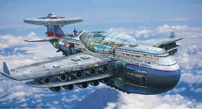 lumea din viitor imaginata in ultimul secol