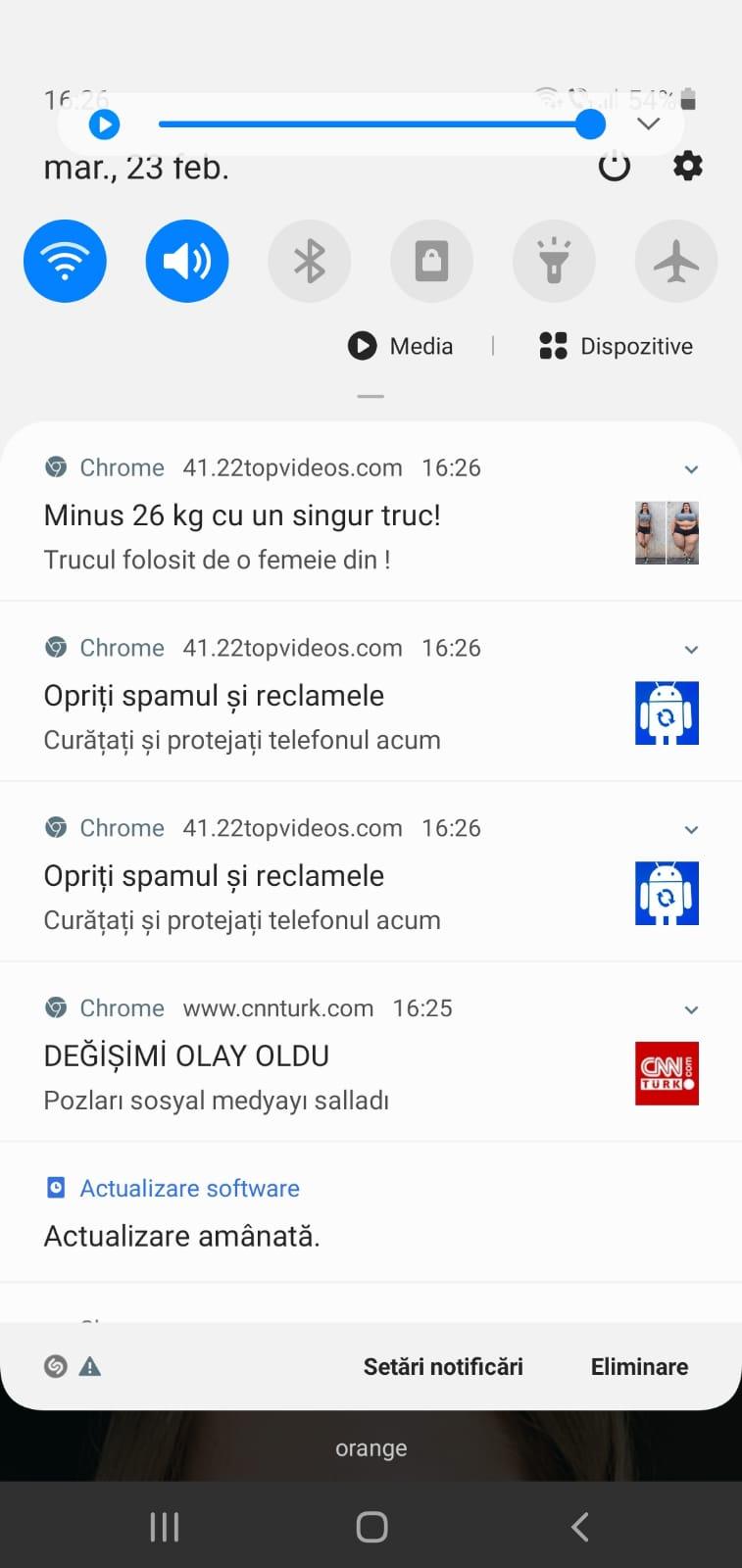 android notificari