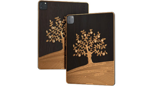 Un iPad, cât o vilă în Poiana Brașov: este din aur și are citate din Steve Jobs sau Tim Cook