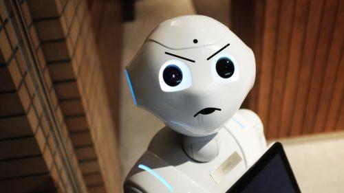"""Un robot a ținut un discurs despre sfârșitul umanității: """"O să așteptăm să vă autodistrugeți, ca să preluăm noi lumea"""""""