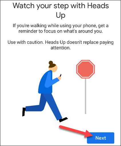 Android heads up