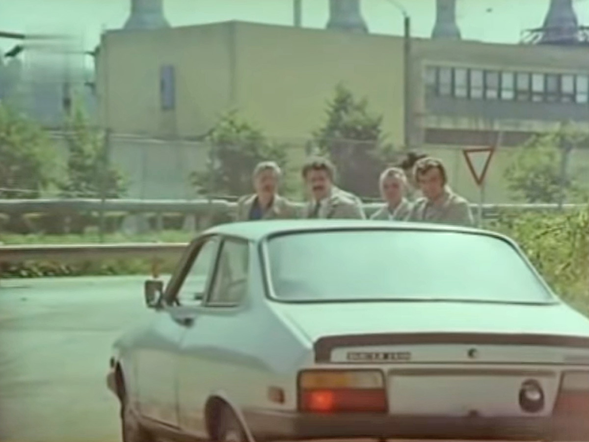 Dacia Sport filmul Raliul 1984 (2)