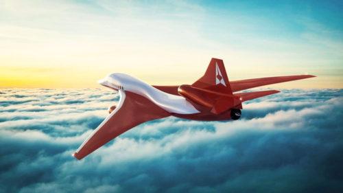 Avionul supersonic care te duce în partea cealaltă a globului în timp record