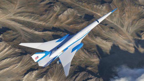 Viitorul Air Force One arată ca desprins din filme SF și e mai rapid decât orice avion comercial