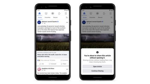Schimbarea Facebook care încearcă să rezolve problema dezinformării, copiată de la Twitter