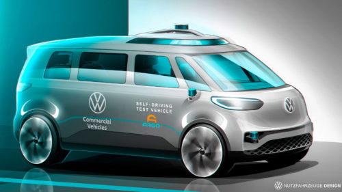 Volkswagen va produce camioane electrice complet autonome până în 2025