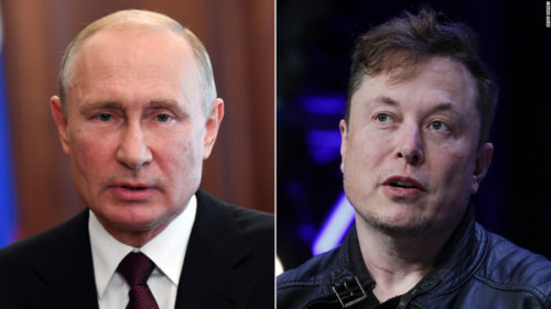 """Încearcă Elon Musk apropierea de Vladimir Putin? De ce vrea să-și """"ducă"""" Tesla și în Rusia"""