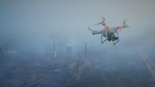 Dronele autonome curăță cele mai poluate râuri din lume. Cum funcționează tehnologia