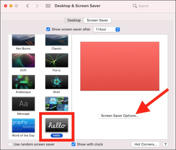 select-hello-to-set-the-screen-s