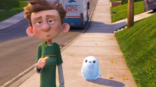 """VIDEO Cât de ghiduș este """"roboțelul"""" Zach Galifianakis în animația Ron`s Gone Wrong"""