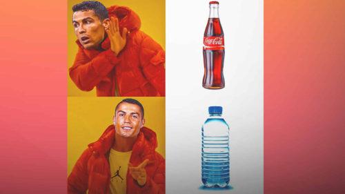 VIDEO Gestul lui Cristiano Ronaldo care a costat Coca Cola miliarde, viral: lovitura imprevizibilă