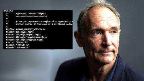 Fondatorul WWW: eroarea găsită în NFT-ul lui Tim Bernes-Lee