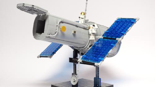 Microscopul făcut din Lego: cum a fost posibil un astfel de gadget