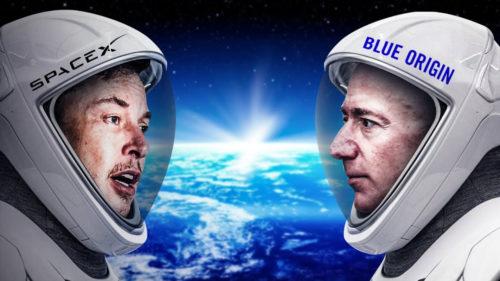 Jeff Bezos și Elon Musk, miliardarii care vor să cucerească spațiul: ce planuri au