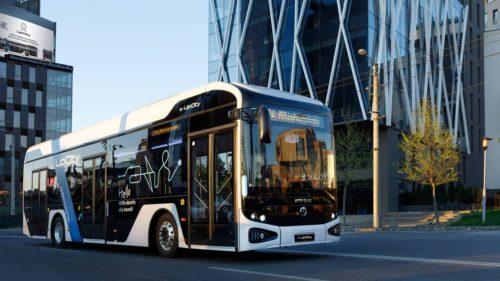 Nu e de la Dacia, dar e cât se poate de românesc: primul autobuz electric al nostru, pe străzi