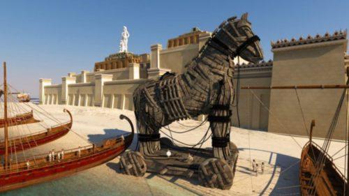 Calul troian există și în realitate: descoperirea fascinantă a arheologilor