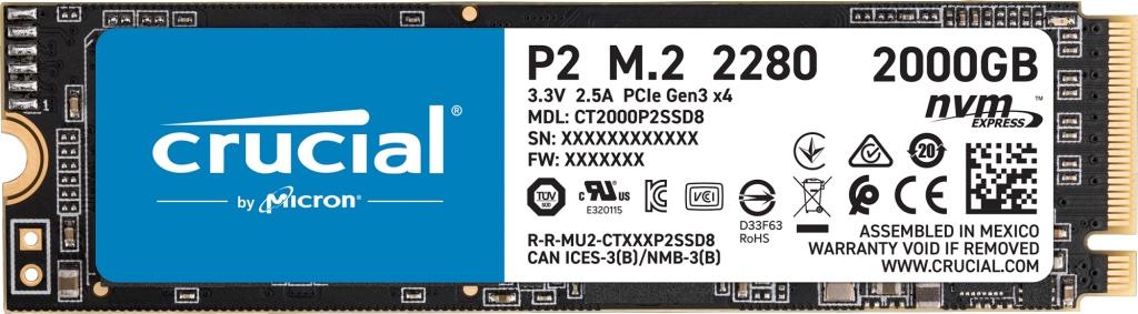 Crucial SSD single