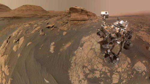 VIDEO Panoramă incredibilă a planetei Marte, surprinsă de roverul Curiosity