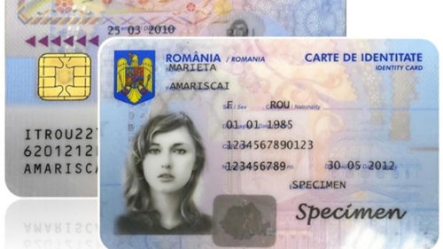 Cărțile de identitate electronice, introduse în România, într-un singur oraș: nu este București