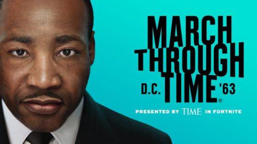 """Un muzeu virtual Martin Luther King Jr. în interiorul """"Fortnite"""": ascultă celebrul discurs, într-o variantă inedită"""