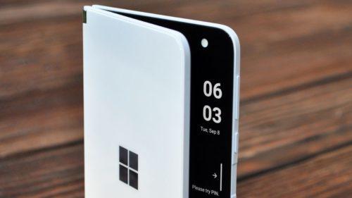 Microsoft Surface Duo 2: primii indici de performanță