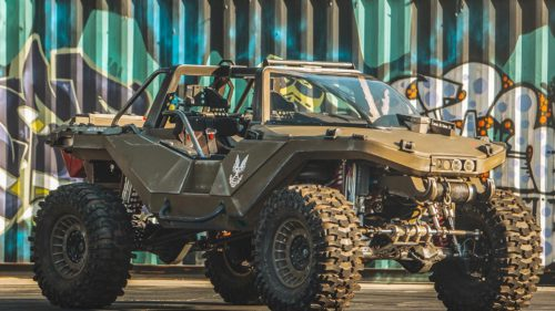 VIDEO Warthog, vehiculul din seria Halo a devenit realitate
